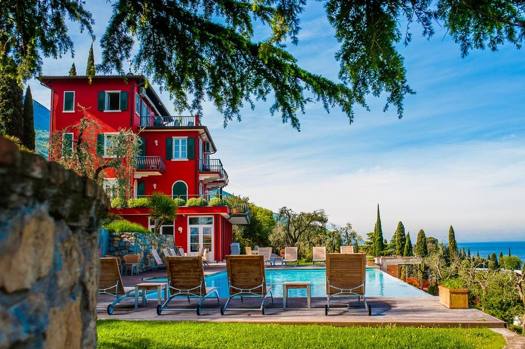 Hotel Bellevue San Lorenzo Malcesine, Booking, Reviews, Lago di Garda, Lake Garda, Gardasee